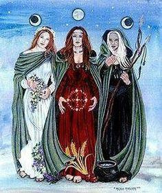 maiden mother crown