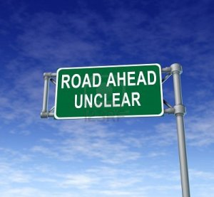 road ahead unclear